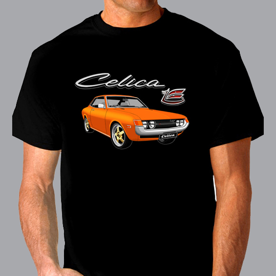Mike Harbar CELICA LT BADGE DESIGN ORANGE