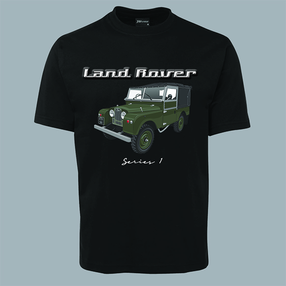 Mike Harbar Landrover series 1